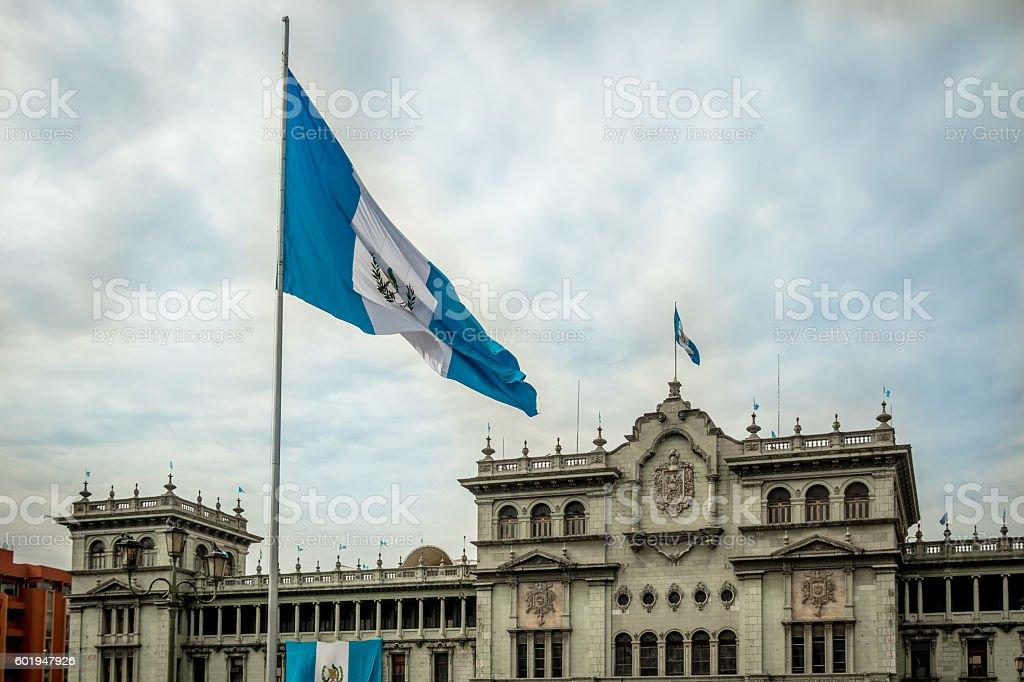 Guatemala National Palace - Guatemala City, Guatemala stock photo