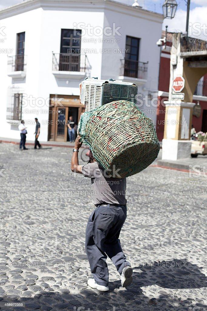 Guatemalan man royalty-free stock photo