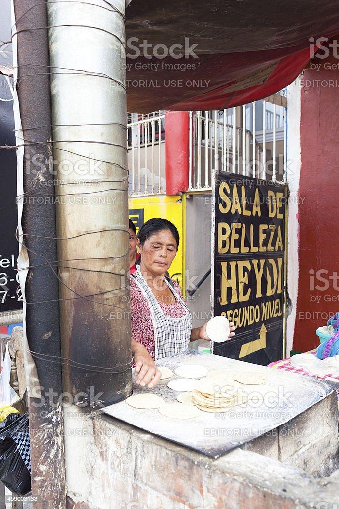 Guatemalan Woman royalty-free stock photo