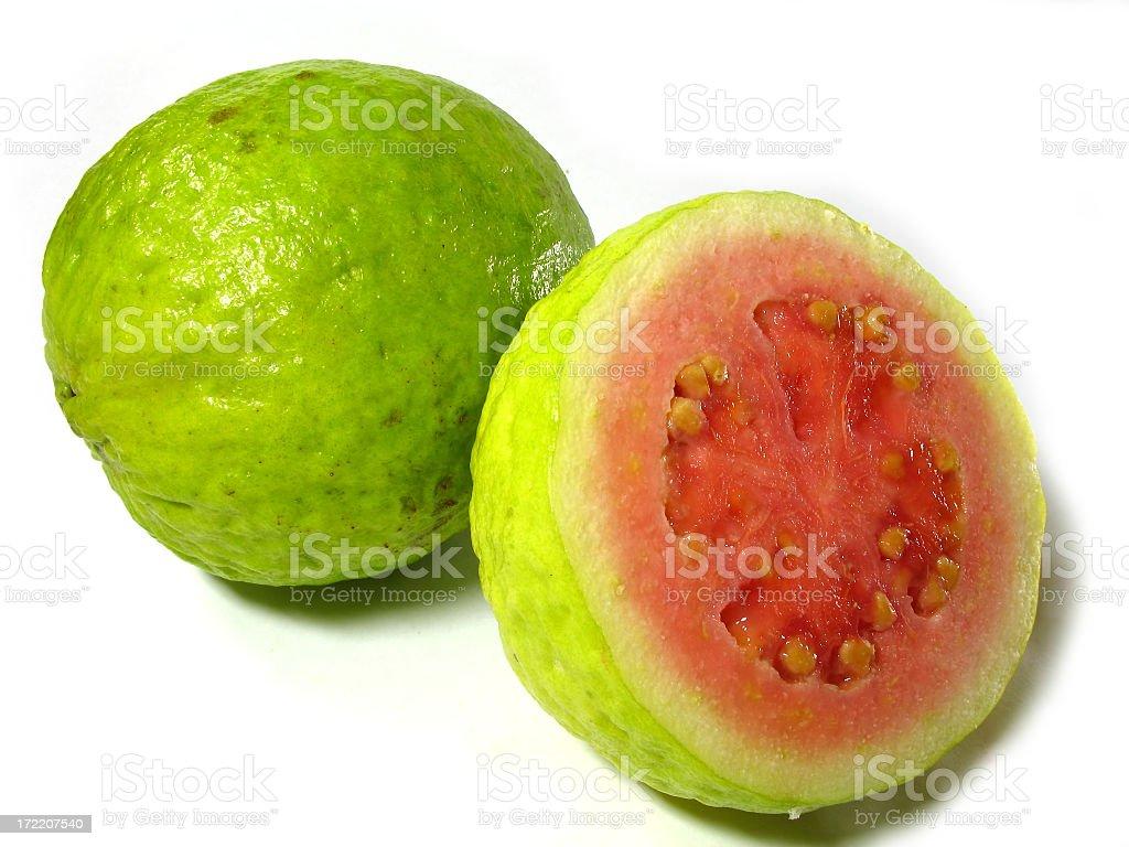 Frutas de goiaba foto royalty-free
