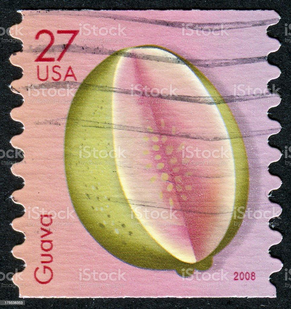 Guava Stamp stock photo
