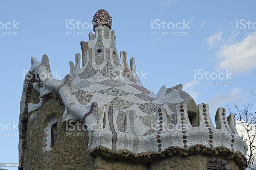 Parc Guell royalty-free stock photo