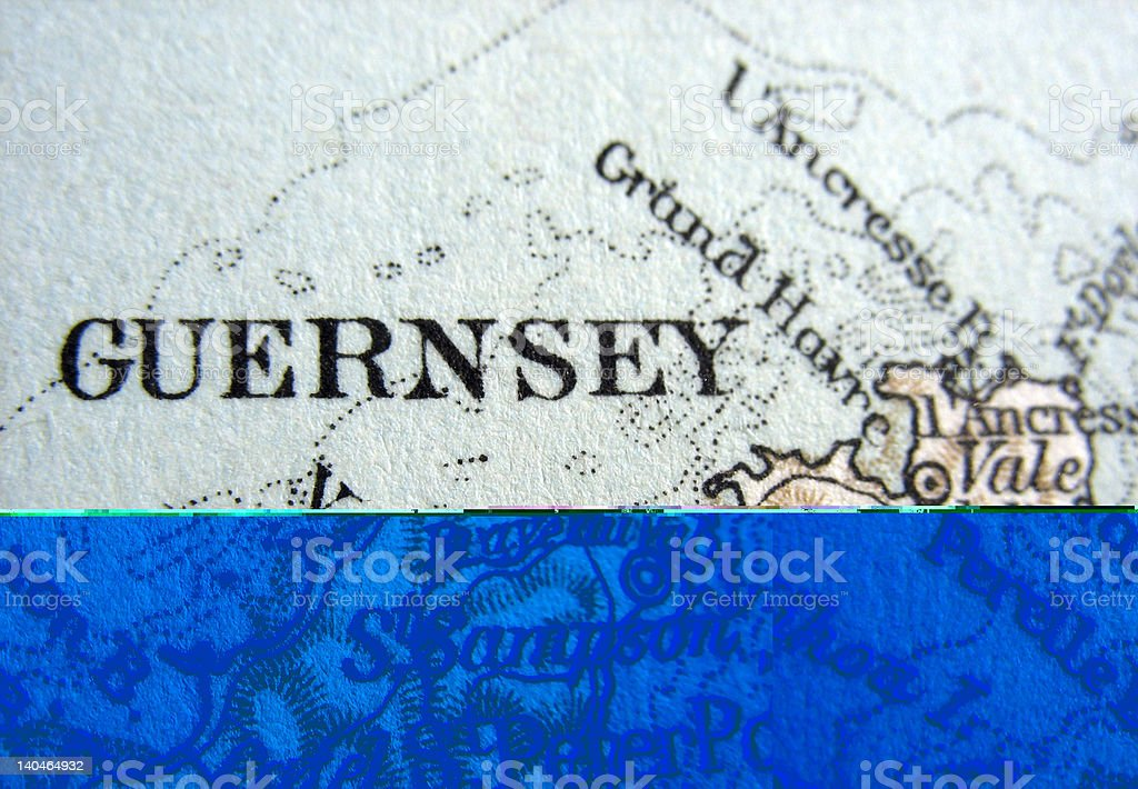 Guernsey royalty-free stock photo