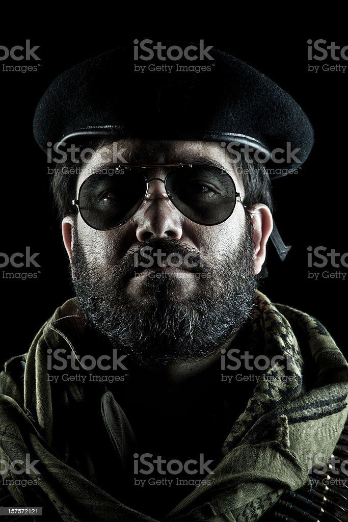Guerrilla Boss stock photo