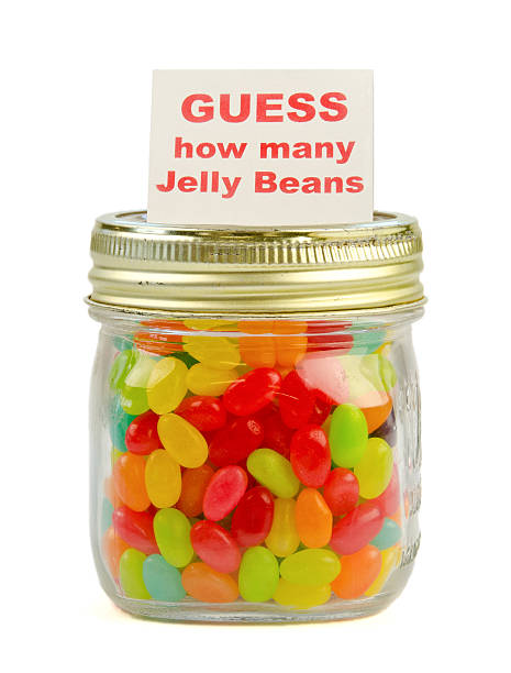 15 Entertaining Baby Shower Games - Pretty My Party  Jelly Bean How Many Slips