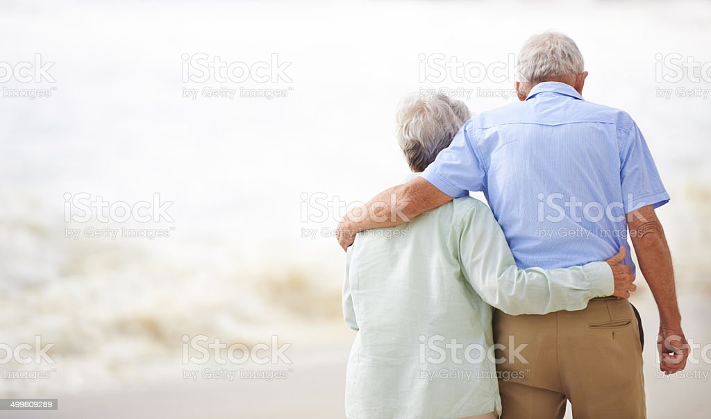 I guess it's you and me forever stock photo