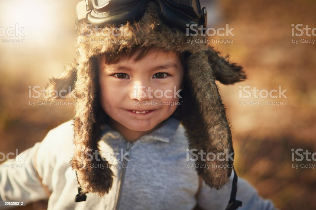 Guess what I'll be when I grow up stock photo