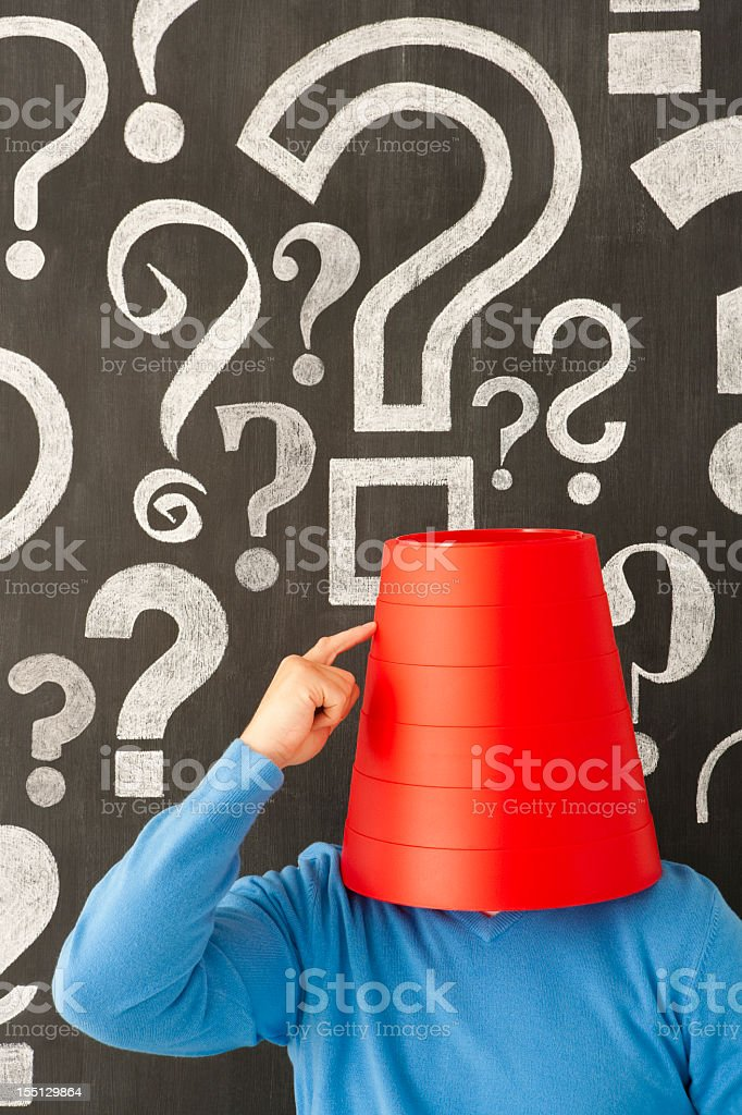 Guess what? stock photo