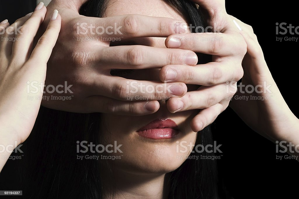 guess who? stock photo