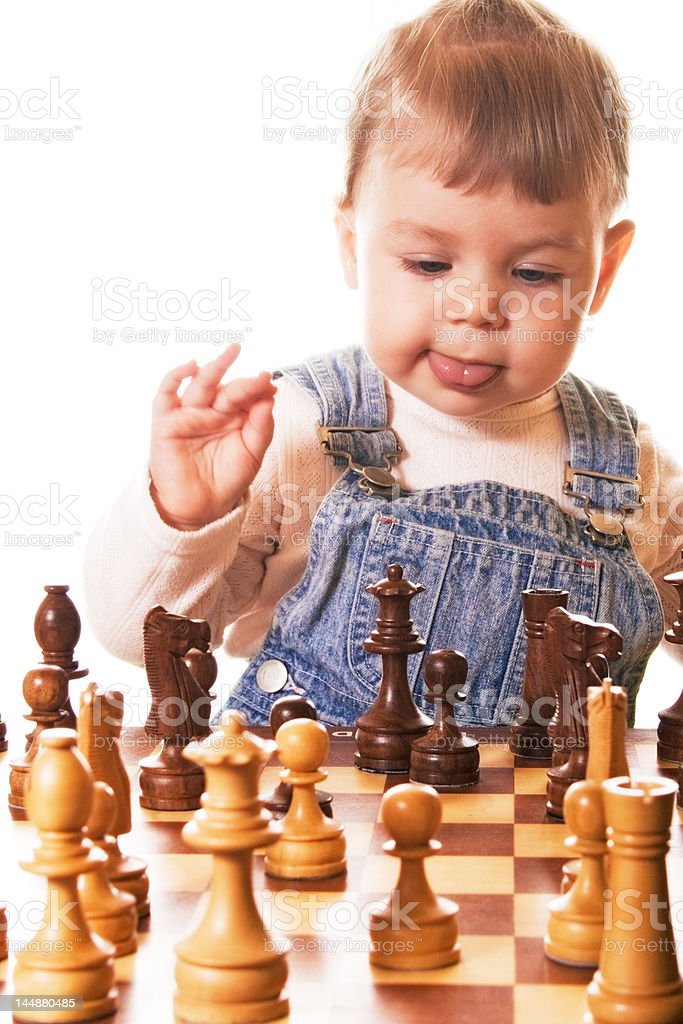 Guessing my next move stock photo