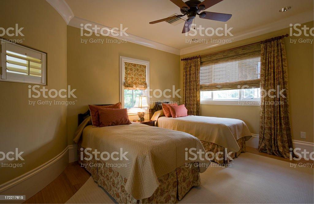 Guest Bedroom stock photo