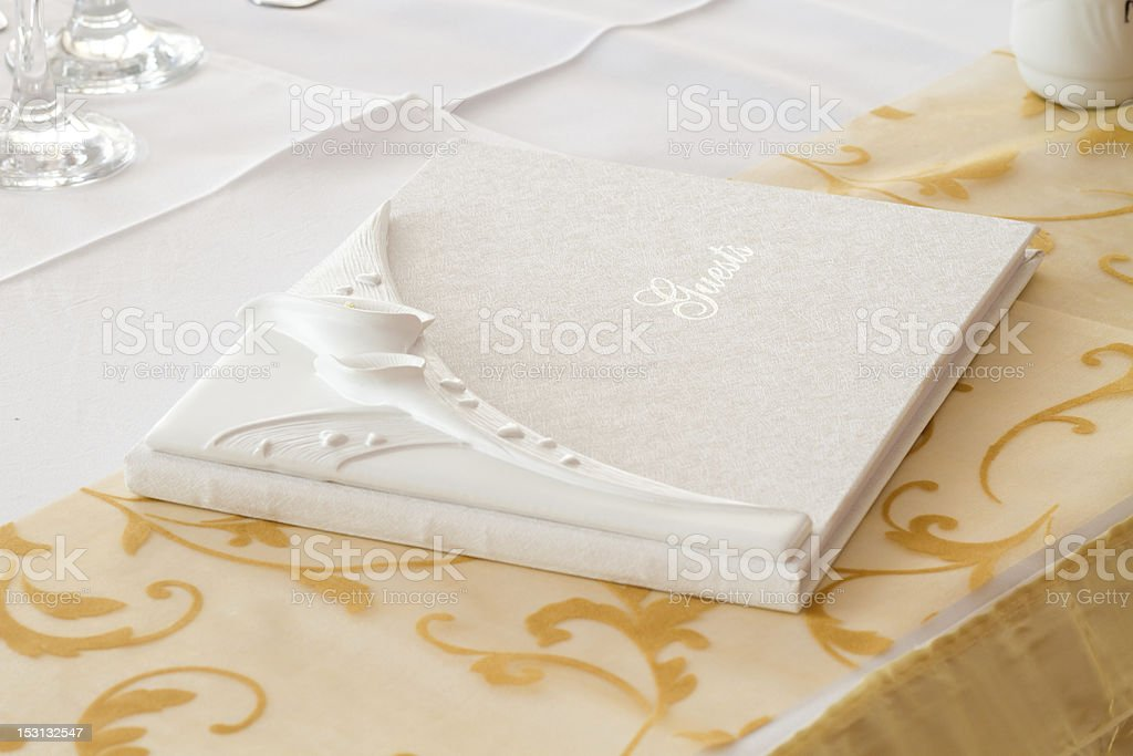 guest book royalty-free stock photo