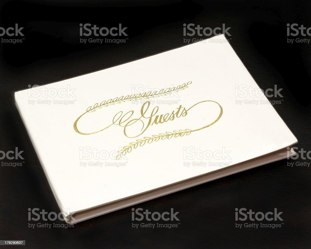 Księga gości zbiór zdjęć royalty-free