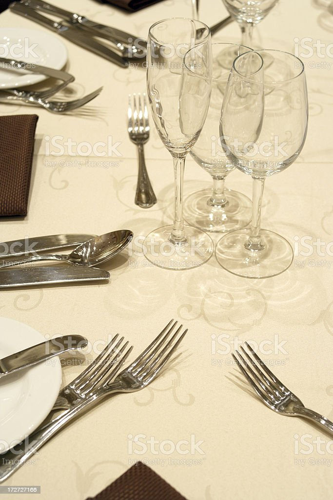 Guest Tables royalty-free stock photo