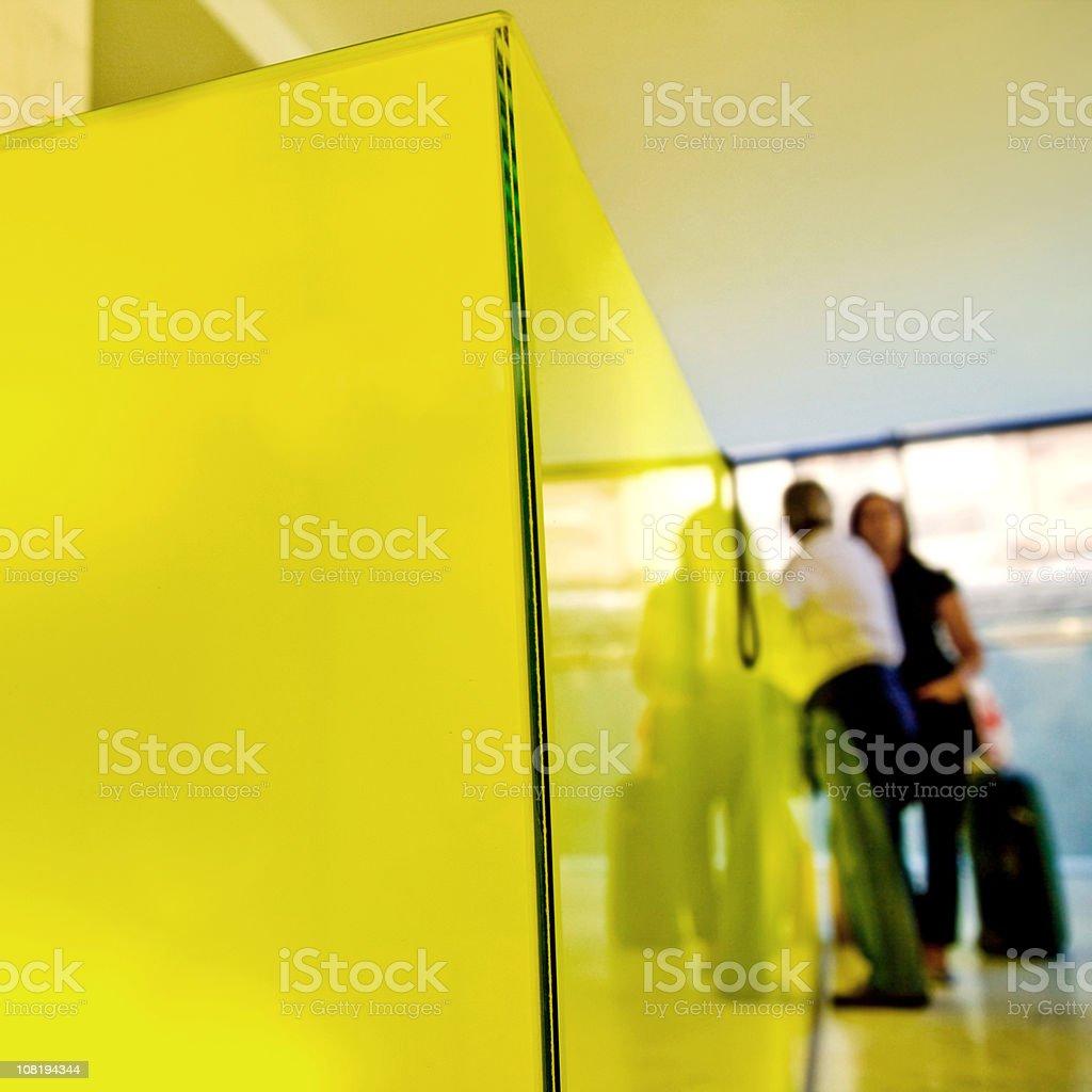 Guests at Lobby royalty-free stock photo