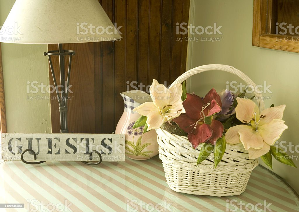 Guests stock photo