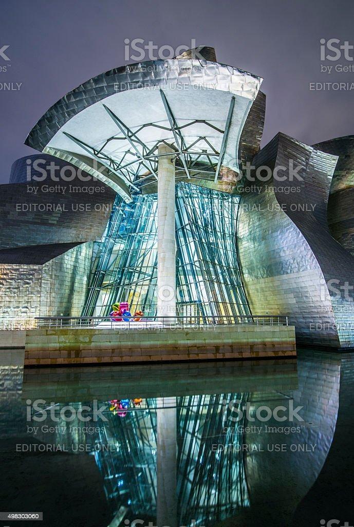 Guggenheim Museum, Bilbao. stock photo