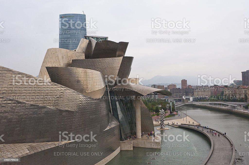 Guggenheim Museum, Bilbao, Spain. stock photo