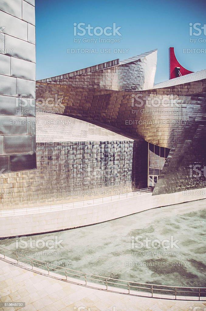 Guggenheim Museum Bilbao, Spain stock photo