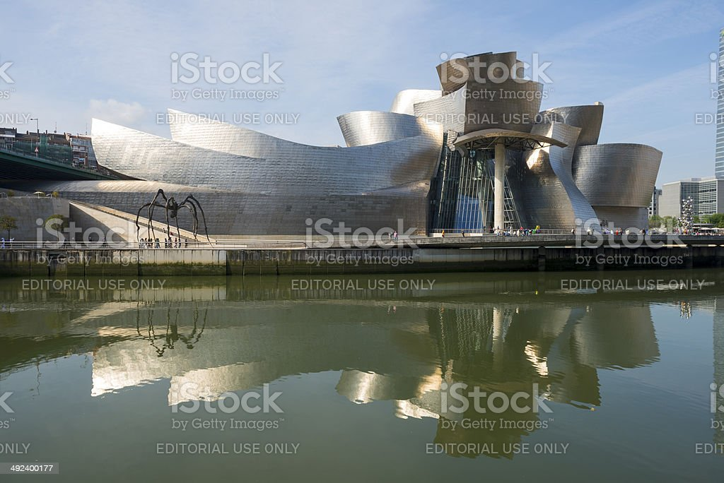 Guggenheim Museum of Bilbao stock photo
