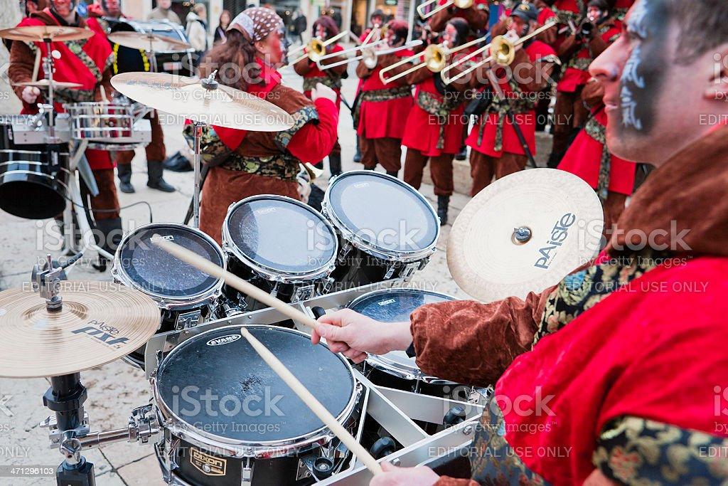 Guggenmusik Band royalty-free stock photo
