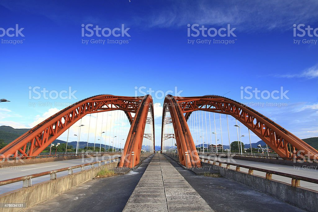 Gui mo Bridge royalty-free stock photo