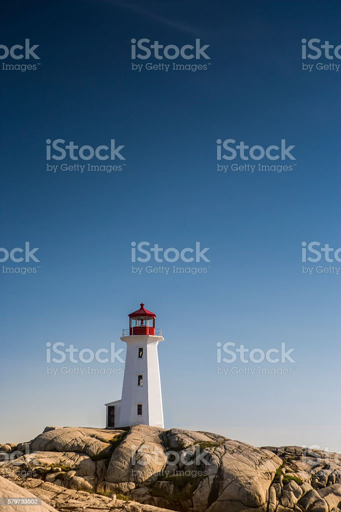 Guidance on the rough seas stock photo