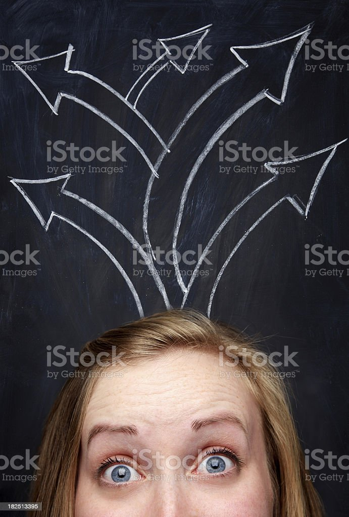 guidance royalty-free stock photo