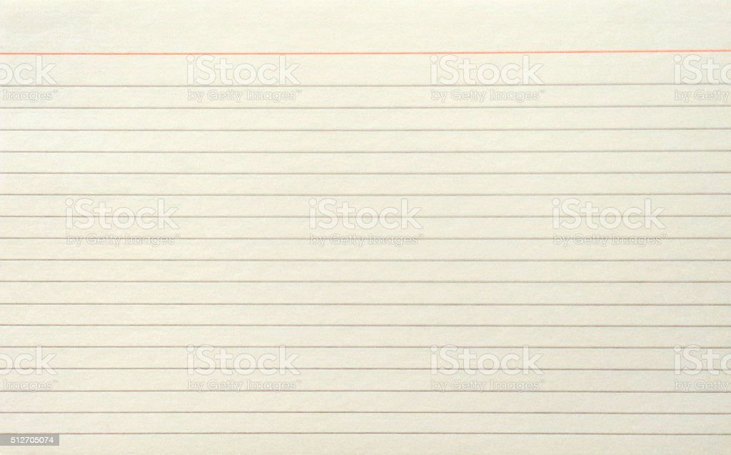 Guided Paper Sheet stock photo
