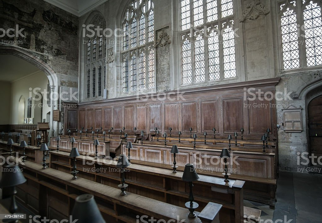 Guild Chapel, Medieval Church,Stratford,Upon Avon stock photo