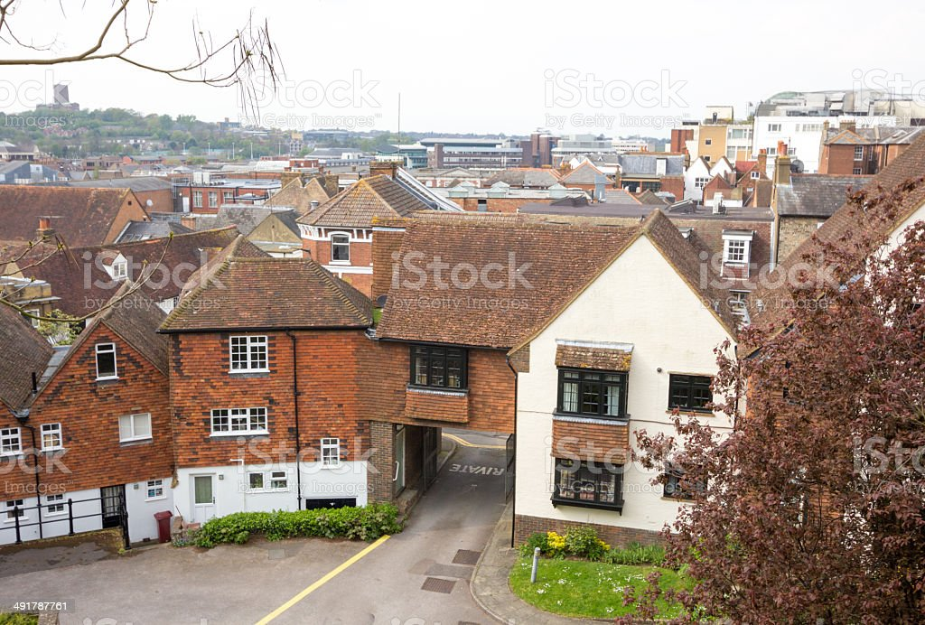 Guildford in Surrey, England stock photo