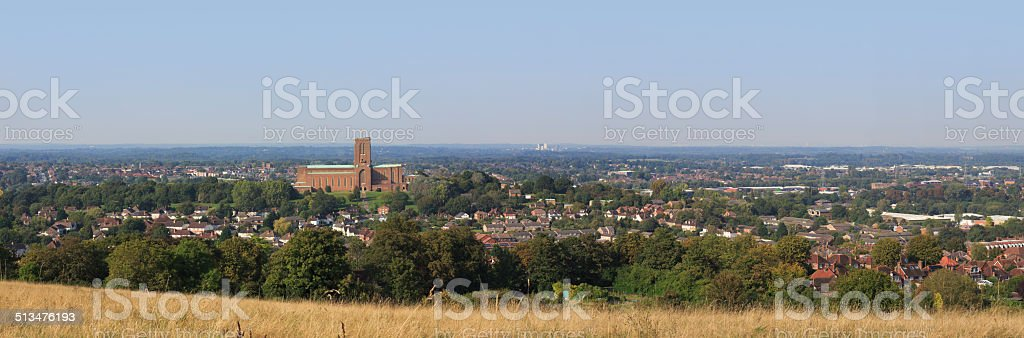 Guildford panorama stock photo