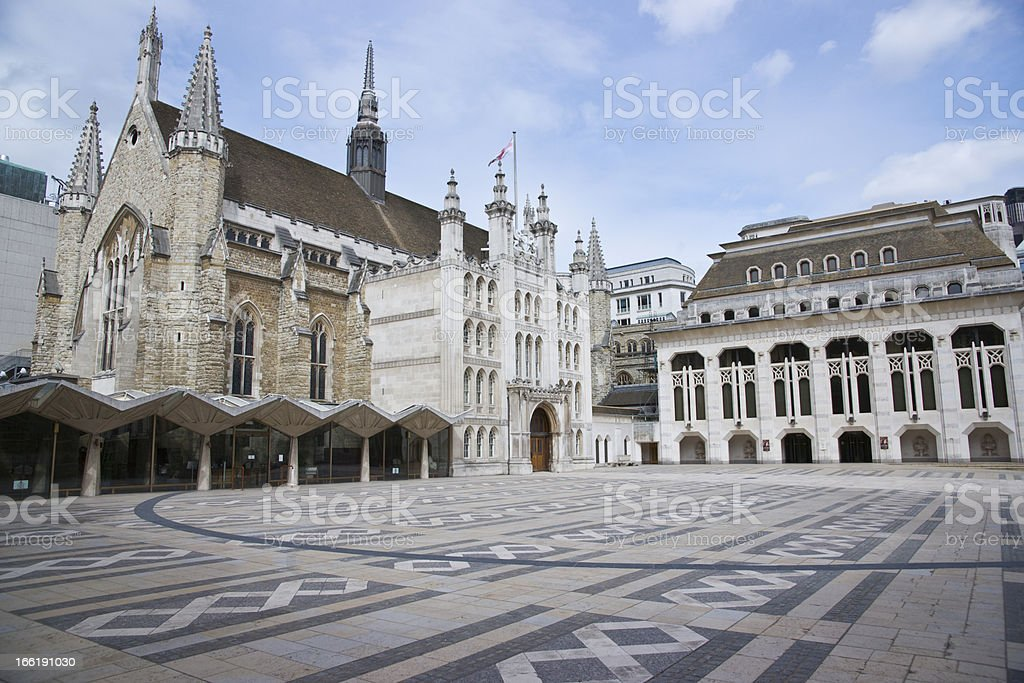 Guildhall and Art Gallery royalty-free stock photo