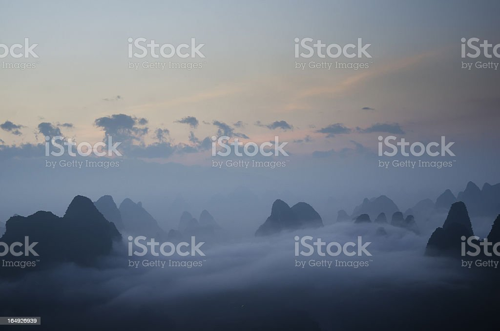 guilin china royalty-free stock photo