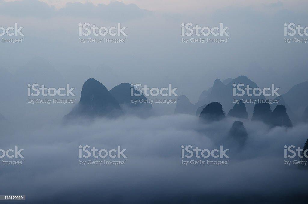 guilin china stock photo