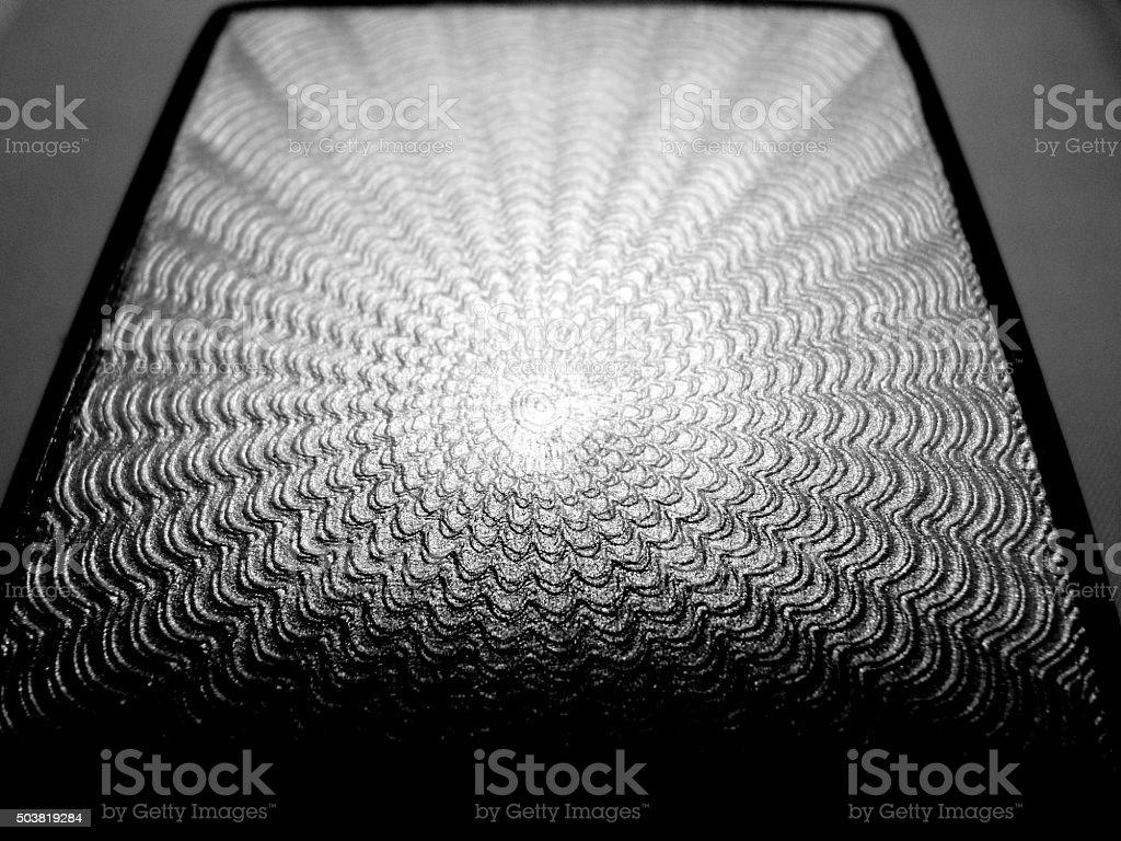 guilloche enamel cigarette case silver stock photo