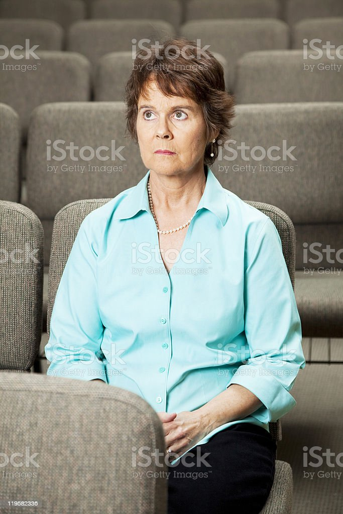 Guilt and Repentence royalty-free stock photo