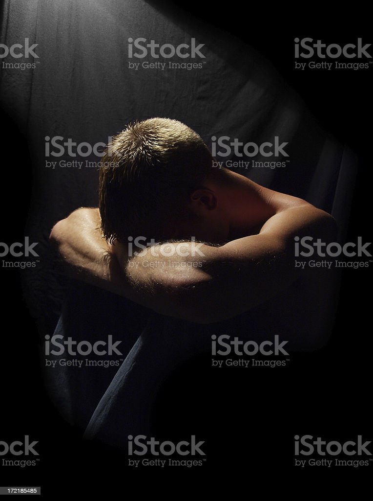 Guilt sets in. royalty-free stock photo