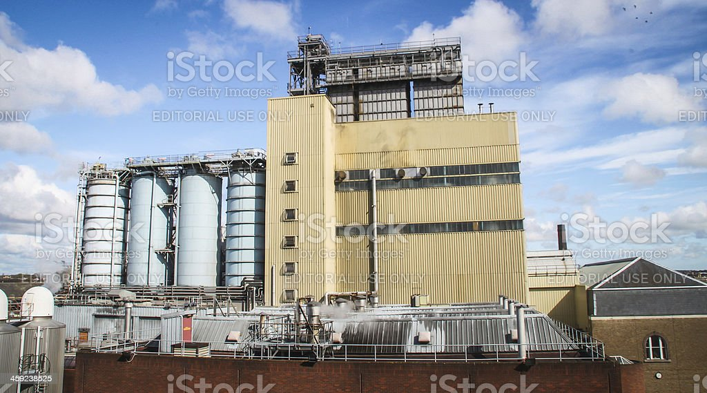 Guinness brewery, Dublin royalty-free stock photo