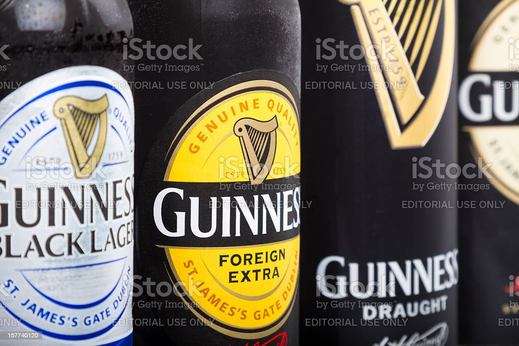 Guinness draught/stout stock photo