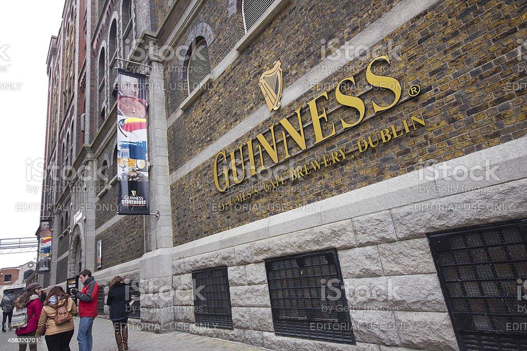 Guinness Storehouse Dublin stock photo