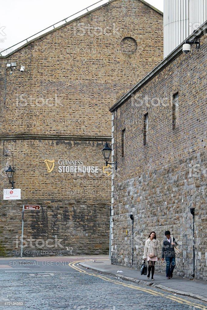 Guinness Storehouse in Dublin stock photo