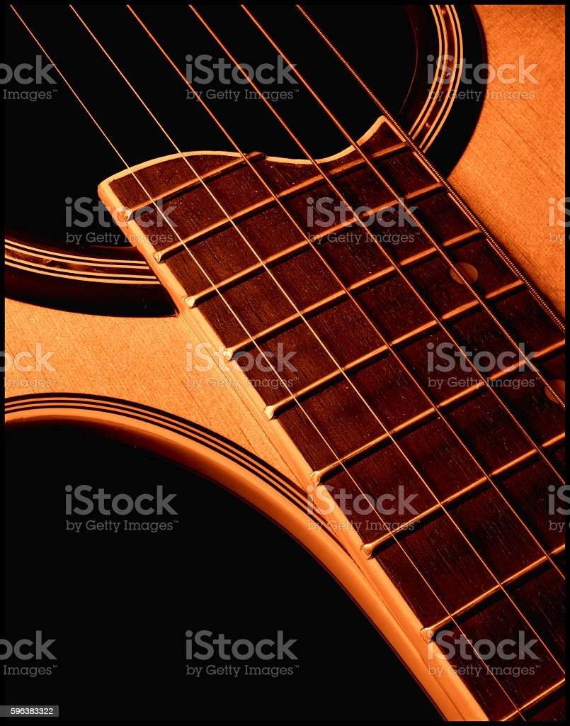 Guitar 7 stock photo
