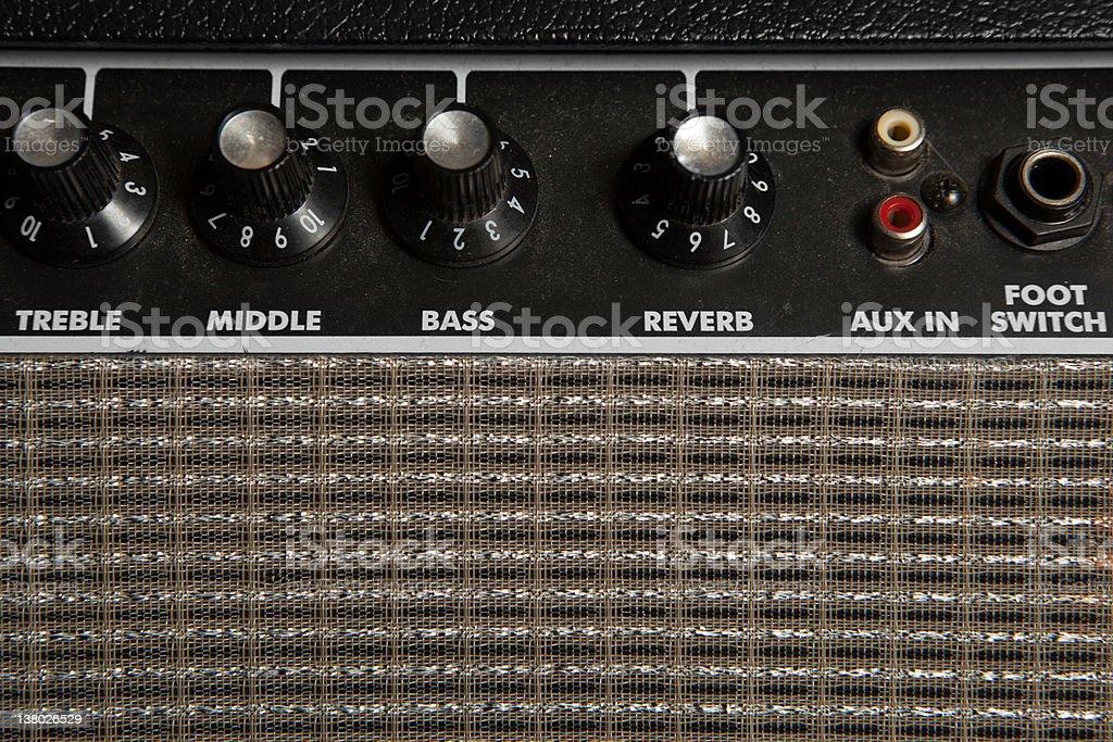Guitar Amp stock photo