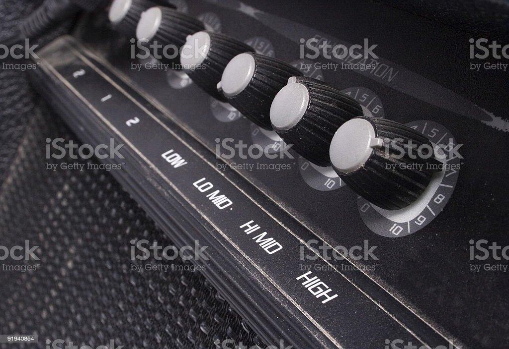 guitar amp royalty-free stock photo