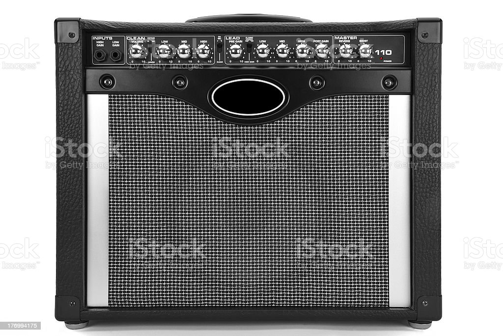 Guitar Amplifier - Gitarrenverstärker stock photo