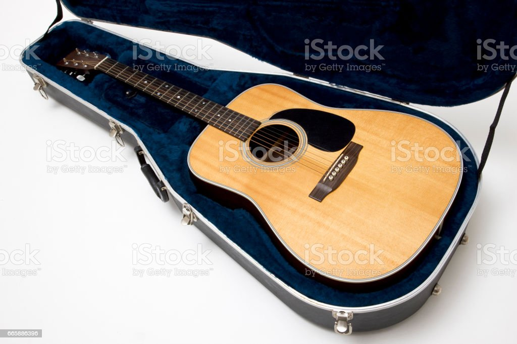 Guitar and guitar stock photo
