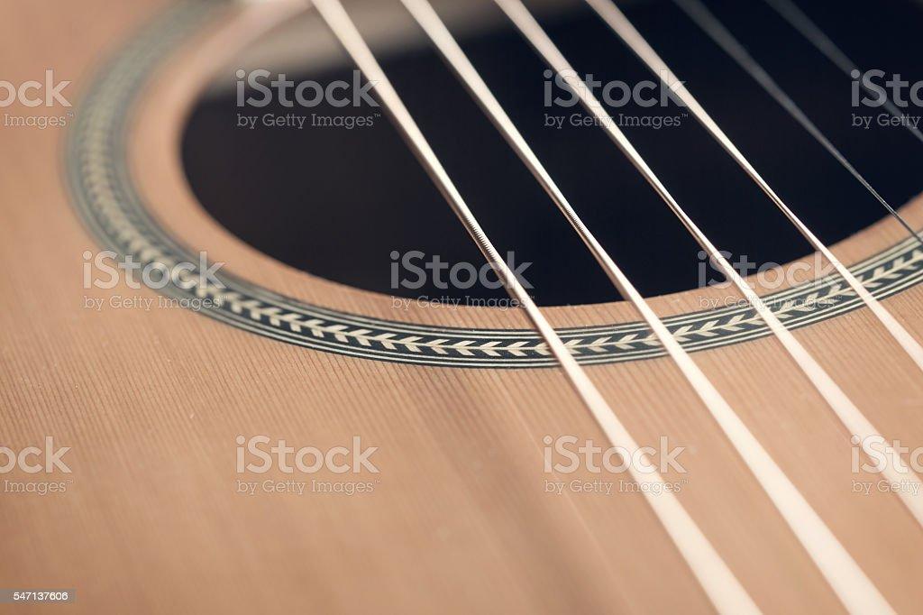 Guitar background stock photo