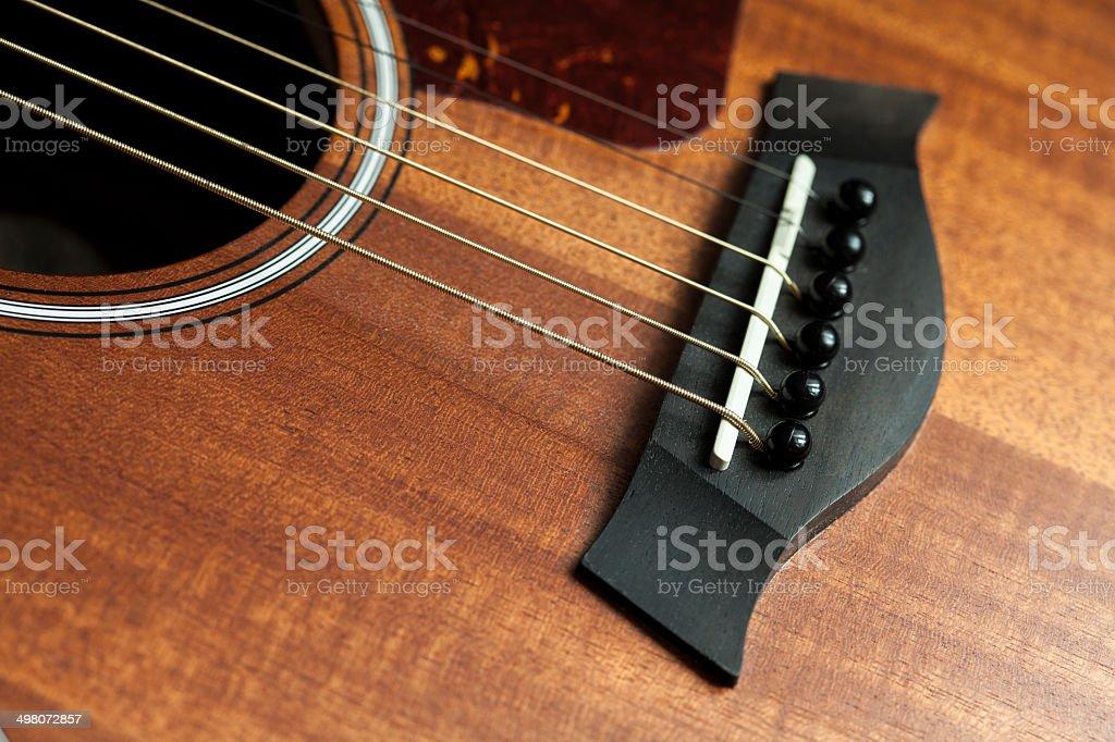 guitar bridge stock photo