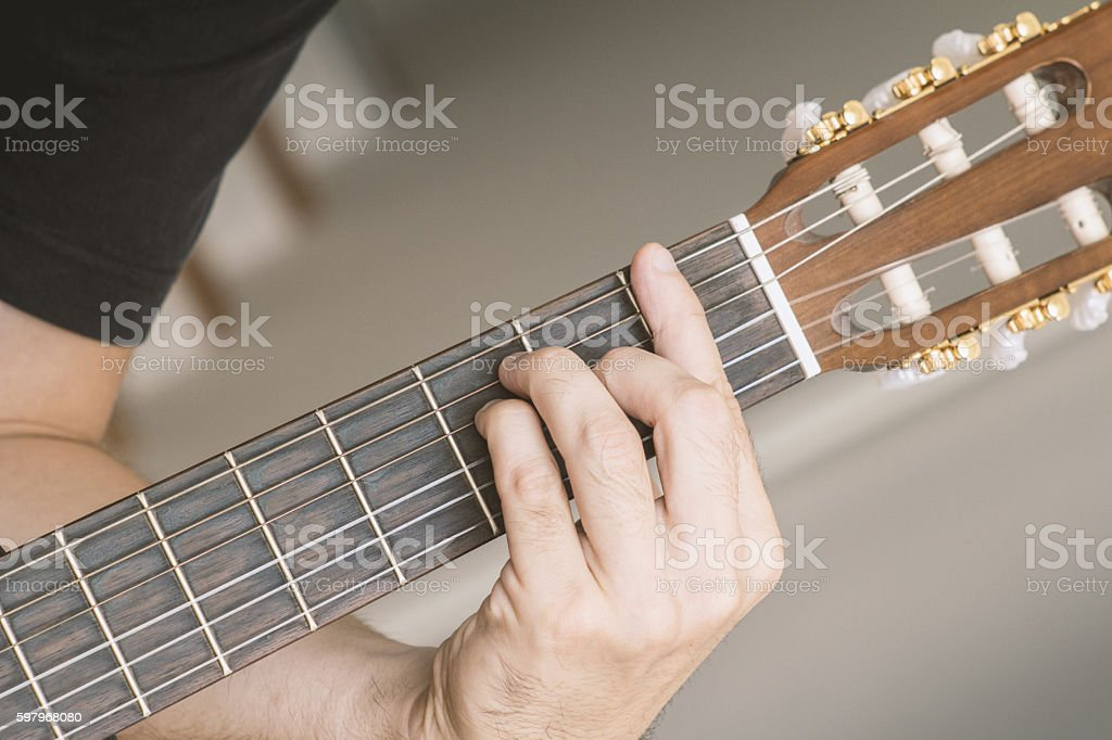 Guitar Chord F Major Stock Photo 597968080 Istock